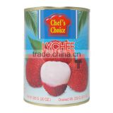 The Best Quality Canned Lychee in syrup from Thailand -Chef's Choice fruit product