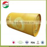 157g art paper tea cardboard cans