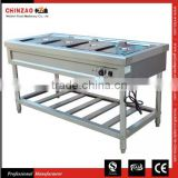 The Most Popular Stand Electric Bain Marie With 4 GN Pans Countertop Food Warmer for Hot Sell