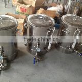 Manufacturing stainless steel mash tuns / brew kettle for sale