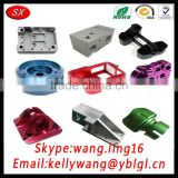 CNC Auto Car Machining Parts, LED Anodize Color Aluminum CNC Machine Parts, 3D CNC Centre Parts