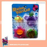 Baby toy bath toy marine stacking cup toy