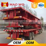 Hot sale 3 Axles 40ft 48ft height container truck trailer