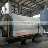 Waste Tyre Pyrolysis Machine, waste tire recycling oil machine