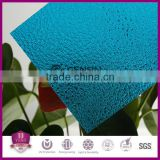 1.8mm Embossed Sheet Polycarbonate UV Coating 100% Virgin GE Raw Material 1220*30500mm In Roll Wholesale Low Price High Quality