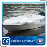Made in China fiber glass fishing boat manufacture