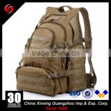 khaki multi-functional military tactical notebook computer backpack mountaineering bag for sports