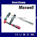 Wood Working Metal Steel Heavy Duty F Clamp