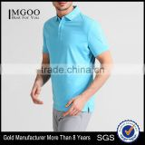 MGOO Factory Supplier Dri Fit Polo Shirts Wholesale Mens Golf Polo Shirt Embroidered With Logo
