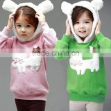 Kids girls cartoon bear coat Jacket children wholesale carters baby clothes 2015 SV012069