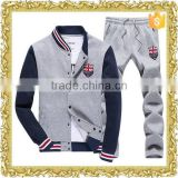 Customized applique logo varsity jacket letterman jacket baseball jacket fitness baseball suit