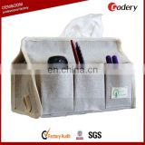 hot selling linen tissue storage bag