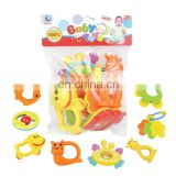 Baby Infant Rattle Teether Play Set