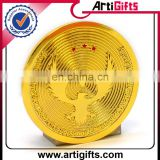 Factory Direct Supply metal gold eagle replica coins