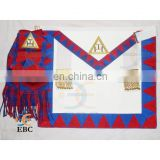 Masonic regalia craft apron, Masonic Craft Un Dress Apron & Collar