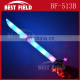 57*14cm plastic led flashing very beautiful sword