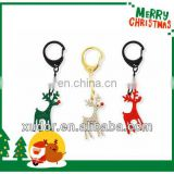 CRYSTAL REINDEER KEYCHAIN CHRISTMAS ITEMS