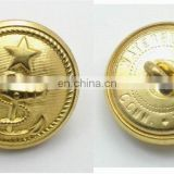 High quality metal military coat buttons
