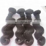 factory raw virgin hair bundles unprocessed natural color weft body wave hair