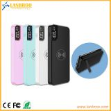 Wireless Power Bank with USB Port, LCD Screen and Kicking Stand 10000mAh
