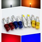 Ultra bright led car light T10/W5W/194 / 168/2825 Auto fog light manufacturers direct selling red, yellow, blue and white
