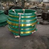 Bowl liner cone crusher spare parts bowl liner concave and mantle factory