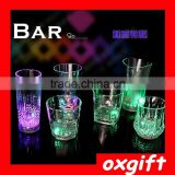 OXGIFT Creative Factory Outlet led light liquid induction cup, LED cup colorful flashing cup