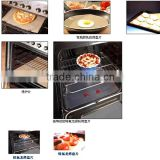 2014 custom FDA approved fire retardant ptfe baking sheet oven liner easily cleaned heat resistance made of China Fleet