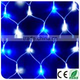 led christmas light blue and white color led net lights for holiday decorate, street lights, party lights
