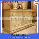High end retro console table, wall table using, corner console table wooden carving design