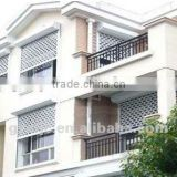 blind window, rolling slats window, aluminum rolling window, iron grill window door designs