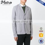 China wholesales casual light grey mens suit blazer