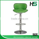 Convenient construction steel bar stool chair bar chair dimensions