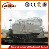 China industrial fire tube sawdust fired steam boiler