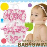 made in Japan cute and high quality swim suit for girl infant bikini kids bathing suit Japanese wholsale babies products
