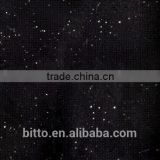 Galaxy black 100% pure acrylic solid surface artificial stone slab sheet