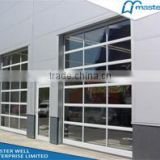 Automatic Open Style Tempered Aluminum Glass Garage Door Prices
