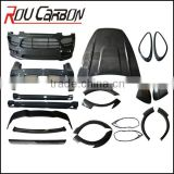 High Quality Carbon Fiber body kits for 958 engine cover for HM 958
