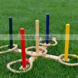 Wooden ring toss game for children games products and school games products