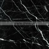 Nero Marquina marble Floor Covering Tiles, Wall Tiles, Black Marquina Chinese Marble Floor Covering Tiles, Wall Tiles