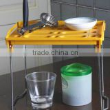 Chrome plate+pp 27.5*24*38 Useful product plastic rack/grocery rack/food rack/kitchen rack