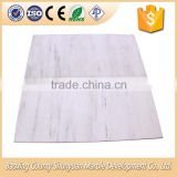 Polished Oriental White Marble 60x60 Floor and Wall Tile