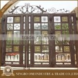 Hot selling factory supply garden arch wrought iron gate