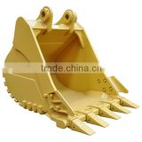 earth moving machinery bucket assembly in stock