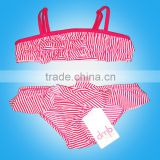 Child Girls Beach Wear Fashion Swimming suit Bikini,wholesale children's boutique clothing