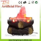 factory low price wholesale fake fire wood led flame decoration light