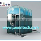 China Puxin Portable Assembled Soft PVC Biogas Plant to Get Biogas for Cooking
