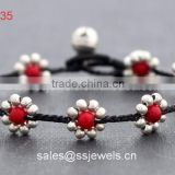 Beautiful punjab design jewelry for girls women red turquoise beaded bracelets&banlges