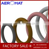 big size Professional customized rubber o-ring viton for auto parts and aircraft Made in Aeromat