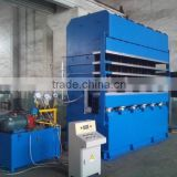motorcycle hydraulic tyre vulcanization machine/rubber tube making machine